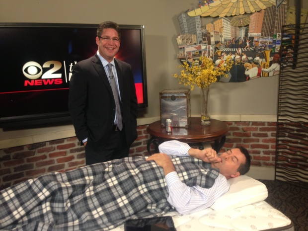 Alex Doman KUTV 2 News interview with anchor Ron Bird